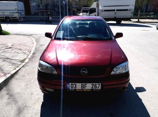 2001 model Opel Astra 1.6 16v ecotec motor elegance masrafsız bakımları tam