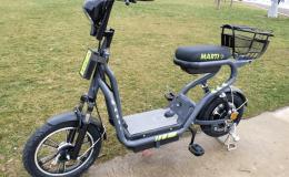 Elektrikli scooter kiralama girişimi Martı, elektrikli bisiklet kiralamaya başladı