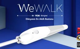 """Yerli Girişim olan WeWALK """"Görme engelliler için akıllı baston"""" , 5 milyon TL yatırım aldı"""