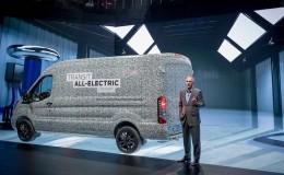 Ford, ilk elektrikli Transit'ini 2021'de piyasaya sürecek